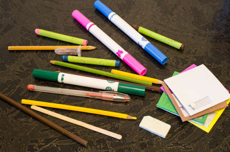 soft tip pen: Pencils and felt-tip pens for childrens creativity