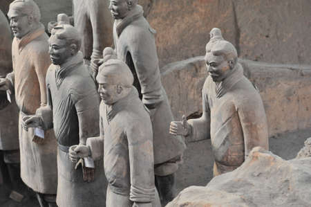 afterlife: Terracotta Warriors Editorial
