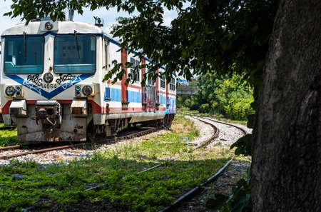 haydarpasa: Abandon painted trains and Railway Station, Haydarpasa