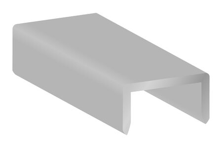 Staples isolated vector illustration image. Illustration