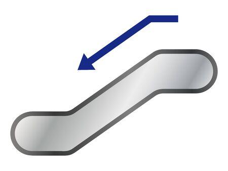Escalator Vectores
