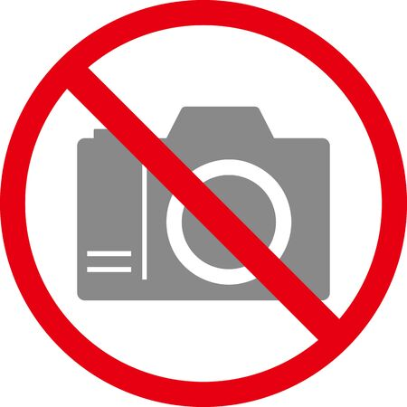 This icon means no photo. Isolated vector image. 일러스트