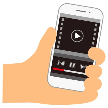 Watch videos on smart phone.