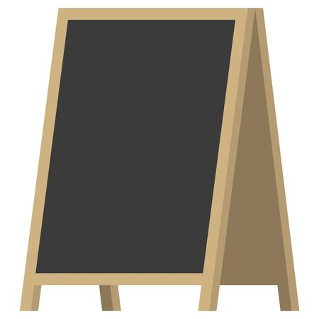 Simple illustration of welcome board
