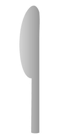 Isolated vector illustration of knife