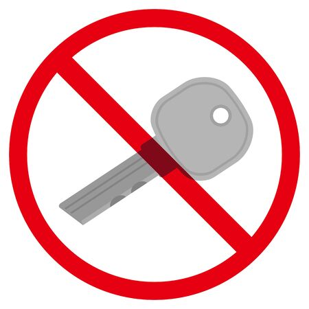 no key sign