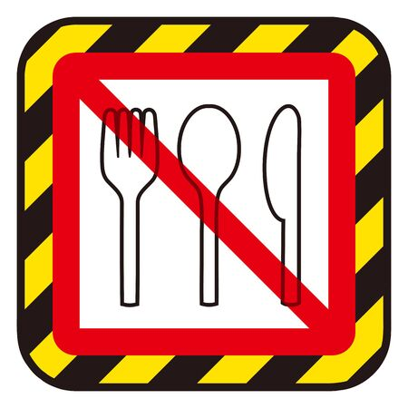 No Meal sign