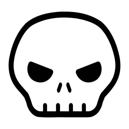 skull mark