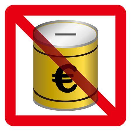 No Euro Savings mark