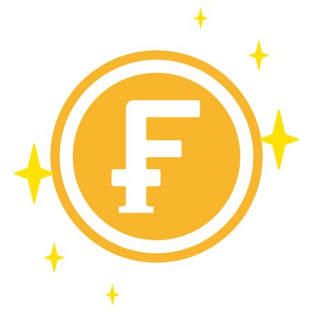 The Swiss Franc currency symbol