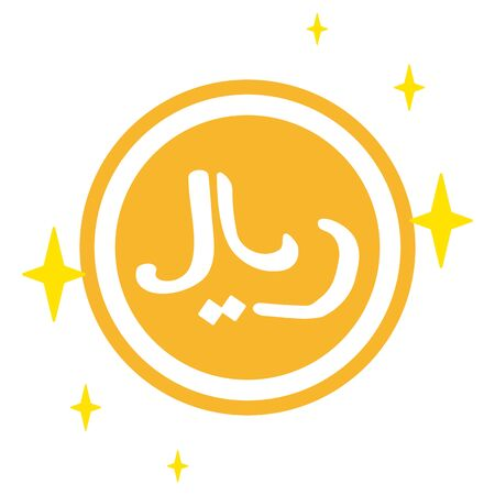 The Iranian Rial currency symbol
