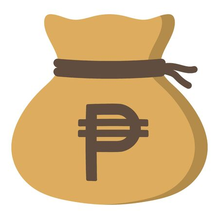 Money drawstring bag ( philippine peso )