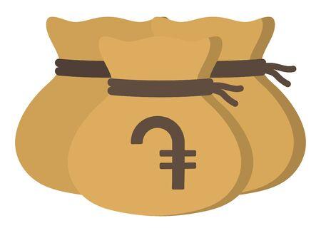 Money drawstring bags ( dram )