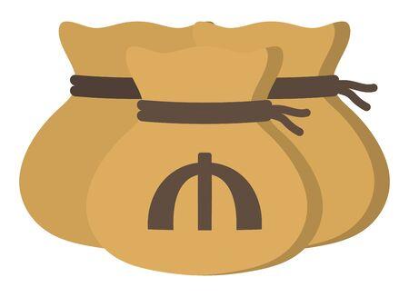 Money drawstring bags ( azerbaijan manat )