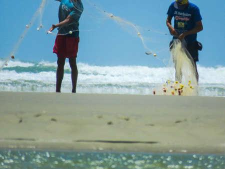 Sea, fisherman, brazil, nature, ocean, nature, ocean, fisherman, fishermen, fishing