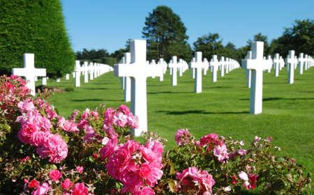 mont saint michel: The Mont Saint Michel (Normandy) WW2 Memorial in France