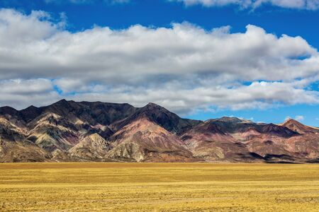 red clay mountain was at Ali Road in Tibet.