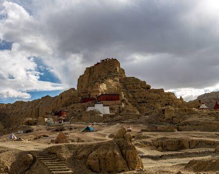 temple scenery at Zanda, Ngari, Tibet, China