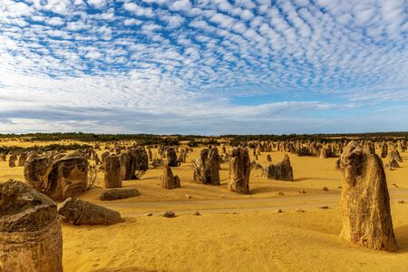 Perth Pinnacles, Western Australia Stock Photo
