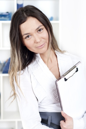 portrait of beautiful business woman Stock Photo - 12939439
