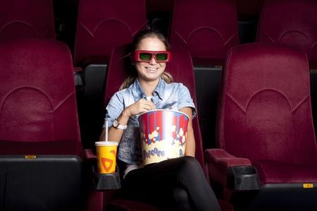 watching cinema photo