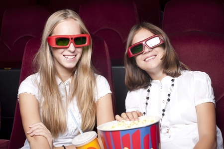 girls in cinema photo