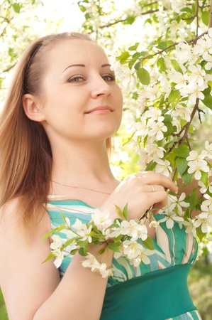 portrait of a beautiful young woman Stock Photo - 13876896