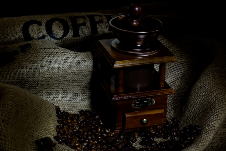 coffee mill photo