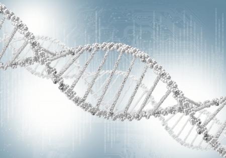 adn humano: H�lice de ADN contra el fondo de color, fondo conceptual cient�fico