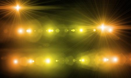 Hintergrundbild mit defokussiert verschwommenes Bühnenlicht Standard-Bild - 34900165