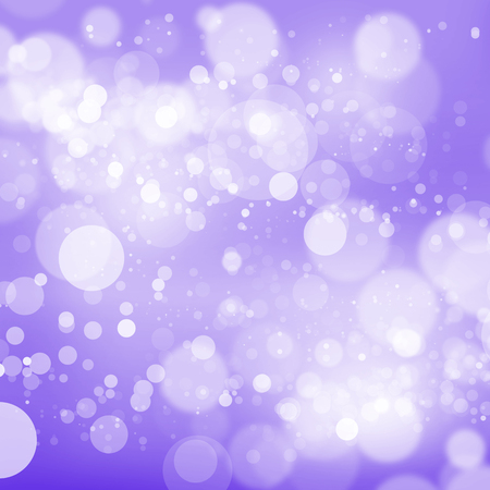 Abstract background with color blurred bokeh lights Stock Photo