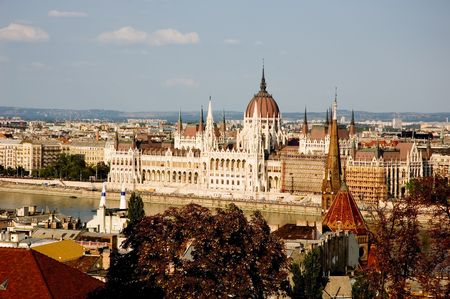 viewpoint: The Parliament in Budapest, Hungary