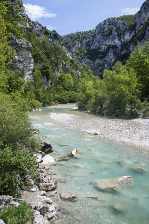 alpes: Les Gorges du Verdon, Provence, France