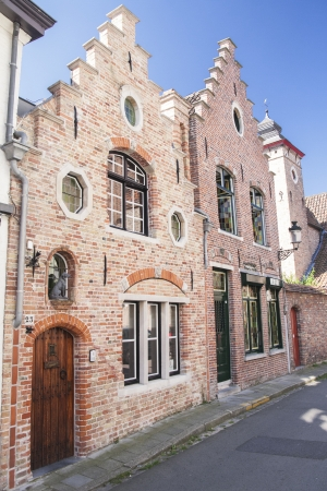 serenety: Bruges, medieval city in Belgium Stock Photo