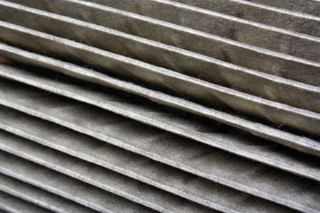 The old air filter photo