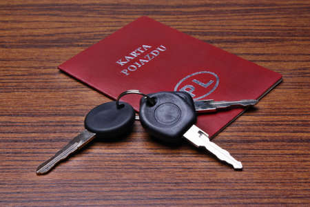 formalities: Polish car vehicle card
