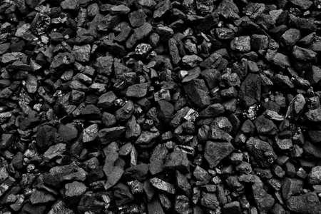 Coal mine deposit mineral black Standard-Bild
