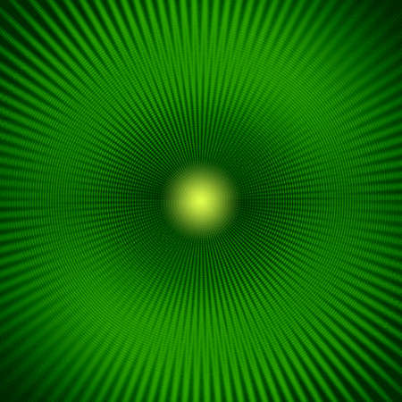 dazzling: Green background abstract beams and flare