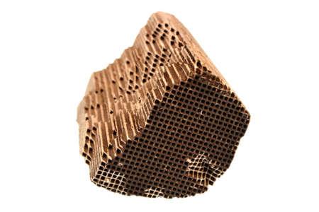 catalytic: Piece part of car catalytic converter having platinum, rhodium, palladium