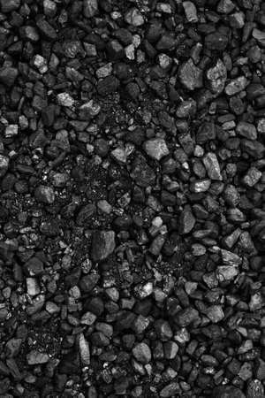 Kohlebergwerk Anzahlung Mineral schwarz Standard-Bild - 41494765
