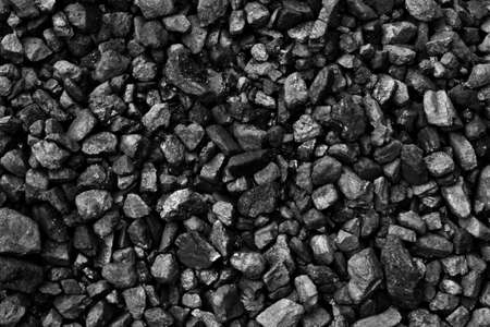 Black of mineral coal
