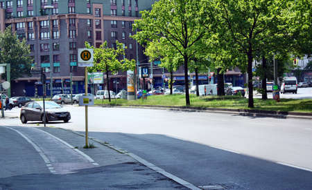u bahn: Berlin, Germany - May 18, 2015: Steglitz in Berlin