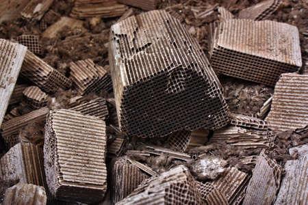 rhodium: Pieces part of car catalytic converter having platinum, rhodium, palladium. Recovery of precious elements