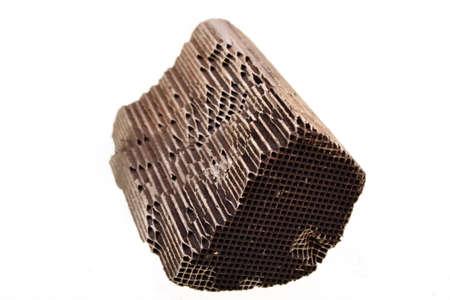 platinum: Piece part of car catalytic converter having platinum, rhodium, palladium