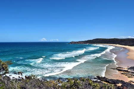 An Amazing Alexandria Bay Noosa National Park on Queensland, Sunshine Coast, Australia Stok Fotoğraf