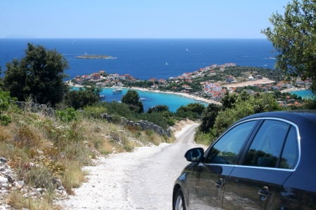 Travelling in beautiful Croatia by the car