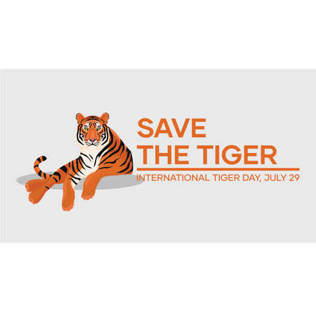 International Tiger Day. Global Tiger Day, often called International Tiger Day, is an annual celebration to raise awareness for tiger conservation, held annually on 29 July.