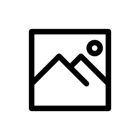 Image gallery icon. Image gallery sign icon for UI design. vector