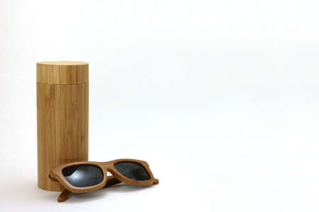 Wooden Sunglasses and Case