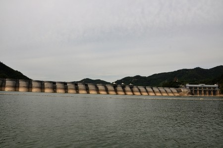reservoir: Huo Shan reservoir Stock Photo